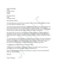 Job Termination Letter Employment Dismissal Format For