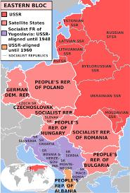Soviet Satellite States Schoolshistory Org Uk