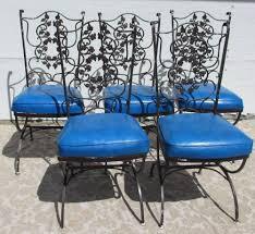 vintage mid century modern patio furniture. Shop Arlington House Davenport Charcoal Wrought Iron Patio Rocking Glider Furniture Chair Vintage Mid Century Modern S