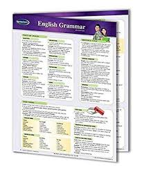 Permacharts English Grammar Chart Science Lab