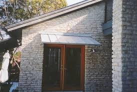 front door awningAwning Doors  Love This Copper Awning