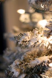 Flocked Christmas Tree Diy Flocked Christmas Tree The Holzmanns
