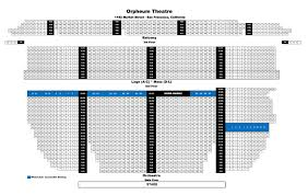 36 Faithful Curran Theater Seating Chart Shn
