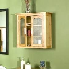 wall units with doors furniture appealing small bathroom cabinets from solid oak textured glass door inserts