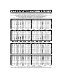 Rapaport Diamond Report Rapaport Diamond Report Major Magdalene Project Org