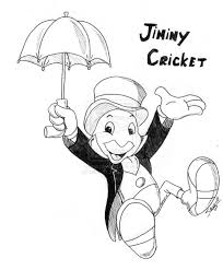 Jiminy Cricket Coloring Pages - GetColoringPages.com