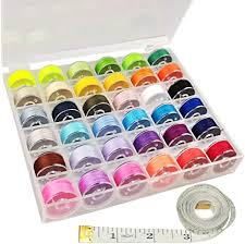 Ceeyali 36 Pcs Bobbins with Assorted Colors Sewing ... - Amazon.com