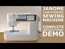 Janome Sewing Machine Videos