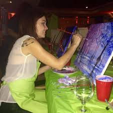 everyone s a picasso on paint nite at kc bars and restaurants the kansas city star