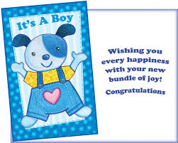 Card For Baby Boy 96274 Six New Baby Boy Greeting Cards With Six Envelopes