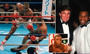 30 years ago: Buster Douglas KOs Mike Tyson in boxing's greatest ever shock  | Daily Mail Online