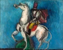 raoul dufy 1914 le cavalier arabe oil on canvas 66 x 81 cm musée d art moderne de la ville de paris modernism