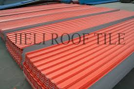 composite roofing ribbed reinfored fiberglass roof tile