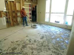 how to remove ceramic tile adhesive from wooden floor removing stick on tiles old linoleum mastic concrete home improvement