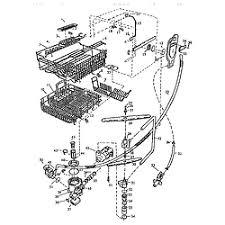 viking range corp undercounter dishwasher parts model vud141 dishwashing