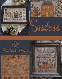 Blackbird Designs Cross Stitch Charts Sisters Cross Stitch Chart