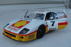 Under the composite body panels, ferrari fitted nothing but the essential bits and pieces to keep the car's overall weight down. Ferrari F40 Shell Race Car Tamiya With Photo Etch Detail P Flickr