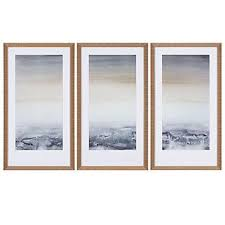 sable island set of 3 framed art art by type art z gallerie on framed wall art sets of 3 with sable island set of 3 pinterest type art art art and artwork