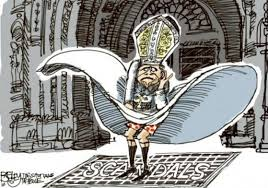 Image result for anti-clerical cartoons