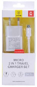 Zore 2in1 Micro Şarj Aleti Z-13