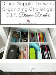 office drawer dividers. Perfect Office Budget Friendly DIY Drawer Dividers For Office Drawer Dividers