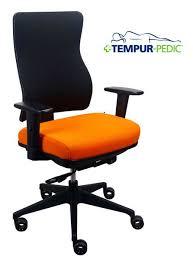 eurotech office chairs. EUR-TP250 Tempur-Pedic Stretch Fabric Back Office Chair Eurotech Chairs