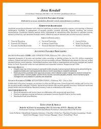 7 Accounts Clerk Resume By Nina Designs
