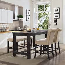Furniture of America Telara Contemporary Antique Black Counter Height Dining  Table - Free Shipping Today - Overstock.com - 19349506