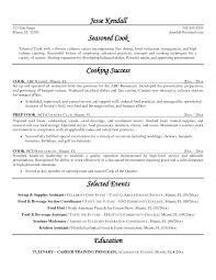 Cook Resume Examples Therpgmovie