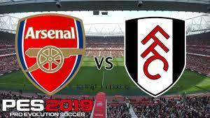 Arsenal vs Fulham - Premier League 2018/19 Season - PES 2019 - YouTube