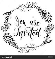 doc you re invited cards you are invited template more you invited party invitation card vector vector 450806959 you re invited cards