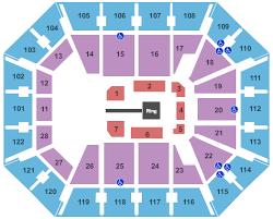 Wwe Seating Chart Interactive Seating Chart Seat Views