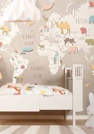 we are like tailors the wallpaper will fit perfectly on your wall you just have to give us the measures you need safari woodland neutral nursery decor bedroom cool bedroom wallpaper baby nursery