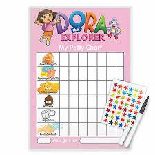 Dora The Explorer Potty Toilet Training Chart With Pen