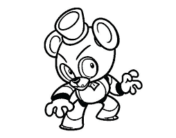 Withered Freddy Coloring Pages Coloring Pages Coloring Pages
