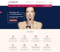 cinderella stunning wordpress theme for makeup artist