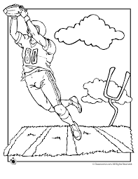 Football Coloring Pages - Woo! Jr. Kids Activities