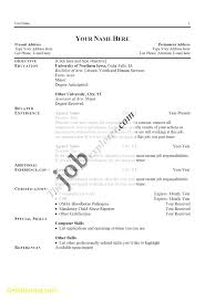 Elegant Download Free Resume Templates Best Templates