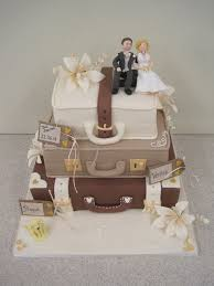 Suitcase Wedding Case Cakes In 2019