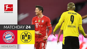 Dortmund are the side whose attack looked closest to top gear on matchday one in the bundesliga and perhaps that might give them the edge in a game. Fc Bayern Munchen Borussia Dortmund 4 2 Highlights Matchday 24 Bundesliga 2020 21 Youtube
