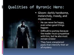 ppt the byronic hero powerpoint presentation id  qualities of byronic hero