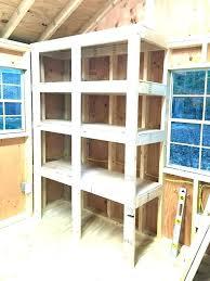 simple storage shelf plans astonishing wood storage shelves plans simple garage shelf design wooden furniture diy