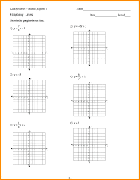 graphing linear equations worksheet with answer key graph worksheets inequalities of