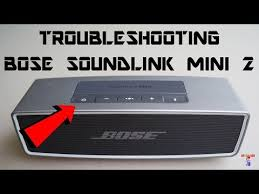 bose 415859. fix bose soundlink mini 2 speaker not charging /not turning on / connecting 415859 \
