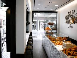small coffee bakery shop interior design ideas