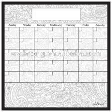 Smart Planners Monthly Magnetic Refrigerator Calendar Dry Erase Board Monthly Planner Calendar For Kitchen Fridge Buy Magnetic Calendar For