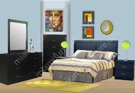 Milano Bedroom Furniture Modern 6 Piece Bedroom Set Miami Furniture