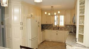 Country Kitchen Antique White Les Armoires Séguin Cabinets
