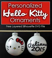 Easy DIY Hello Kitty Ornaments - The Kim Six Fix