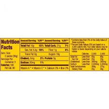 peanut m ms nutrition facts
